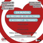 Día Mundial de las Víctimas de Accidente deTráfico