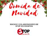 Comida navidad Stop Accidentes